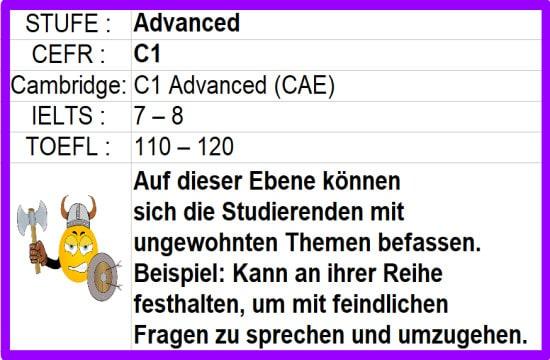 C1 Advanced Learn English online kostenlos Fortgeschrittenenkurs mit Freunden oder Lehrern