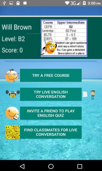 Free IELTS APP for English Conversation Practice